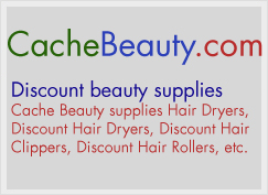 Cache Beauty supplies Hair Dryers, Discount Hair Dryers, Discount Hair Clippers, Discount Hair Rollers, etc.